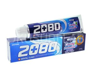 2080歯磨き(Cavity Protection)